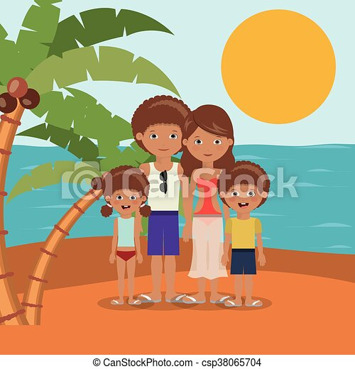 Family Beach Vacation Design