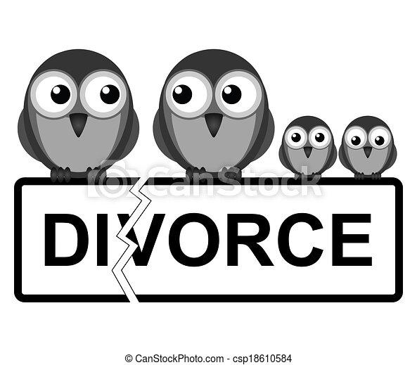 Family break up - csp18610584