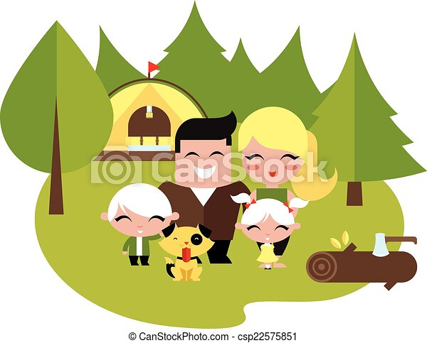 Family Camping Vector Clipart Royalty Free 2172 Clip Art EPS Illustrations And Images Available To Search From Thousands Of Stock