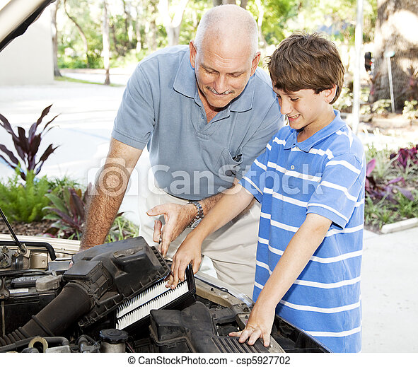 Family Car Repairs - csp5927702