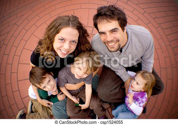 Family circle - csp1524055