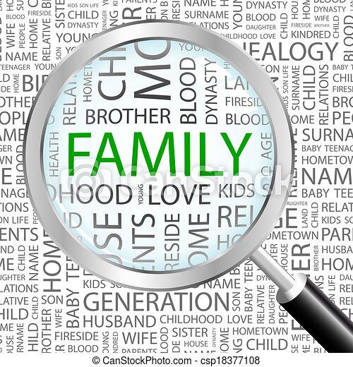 family. - csp18377108