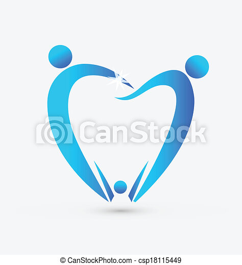 Family dentistry icon vector - csp18115449