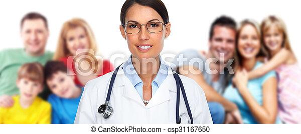 Family doctor. - csp31167650