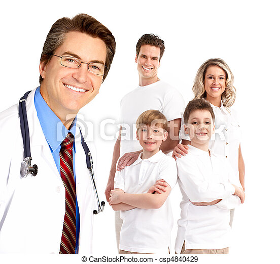 Family doctor - csp4840429