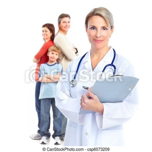 Family doctor - csp6073209