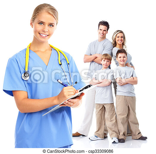 Family doctor woman. - csp33309086