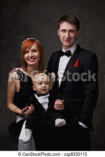 family., feliz - csp8330115