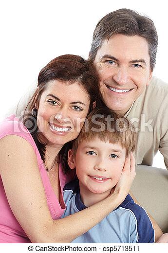 family., feliz - csp5713511