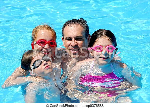 Family fun pool - csp0376588