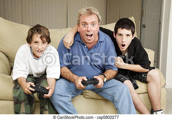 Family Game Night - csp5802277