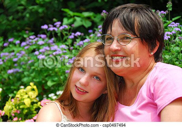 Family generations - csp0497494