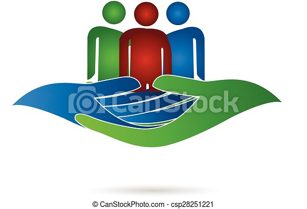 Family hands care - csp28251221