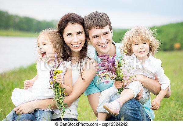 Family having fun - csp12324242