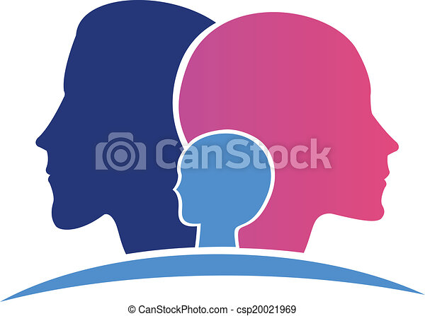 Family heads logo  - csp20021969