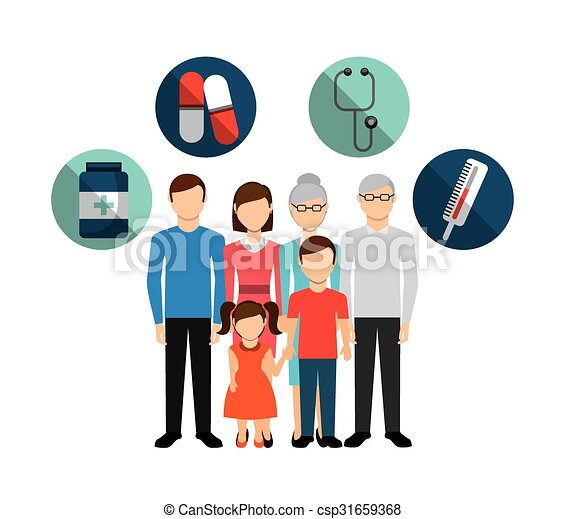 family health care design clip art vector csp31659368 - Examining Key Elements Of Philippines Supplementsi