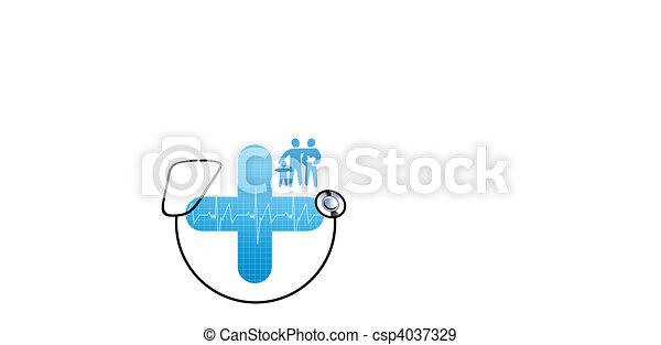 Family health care - csp4037329