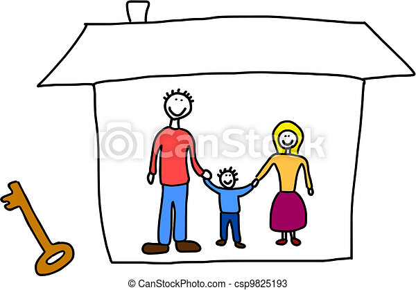 Family home - csp9825193
