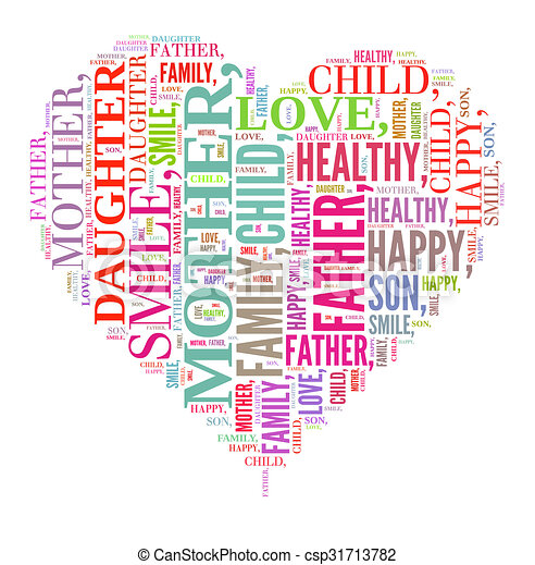 Family illustration concept - csp31713782