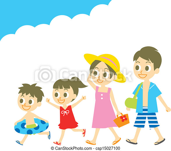 Summer Clothes For Kids Clipart