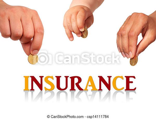 Family insurance. - csp14111784
