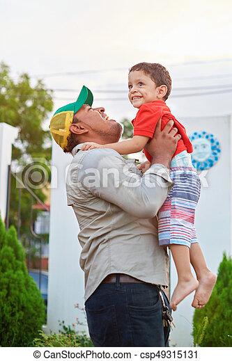 Family life theme - csp49315131