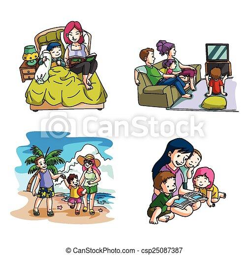Family Lifestyle - csp25087387
