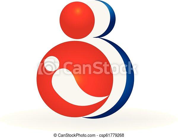 Family logo vector - csp61779268