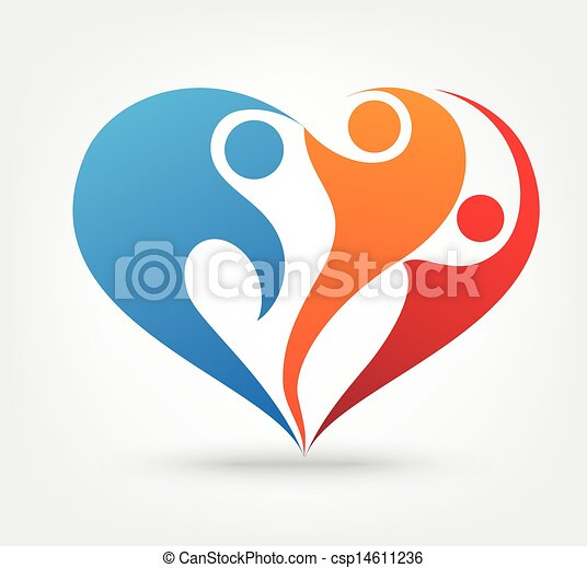 Vector illustration of family love icon vectors - Search ...