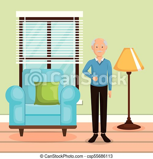 family member in the living room vector illustration design vector rh canstockphoto com empty living room clipart empty living room clipart