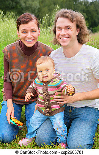Family on nature - csp2606781