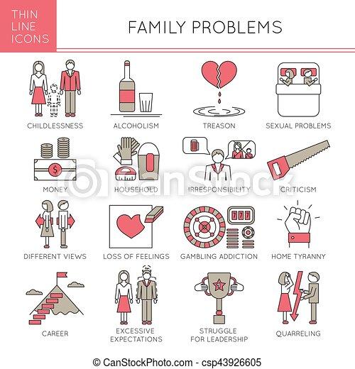 Family Problems set - csp43926605