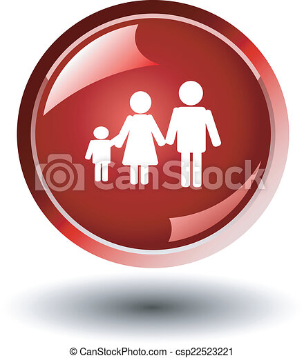 family red button - csp22523221