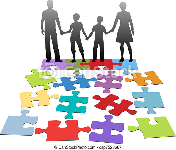 Family relationship problem counsel - csp7523667