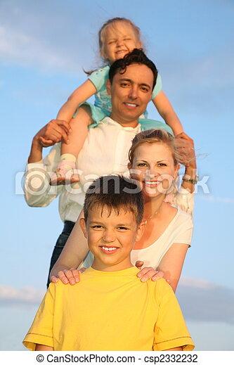 family sky - csp2332232