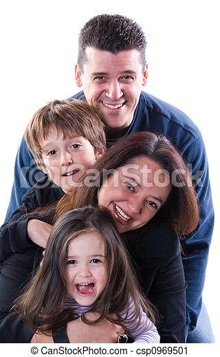 Family time - csp0969501