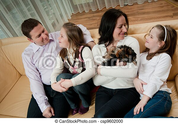 Family together at home - csp9602000