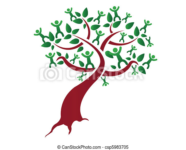 family tree relatives illustration design isolated over a rh canstockphoto com