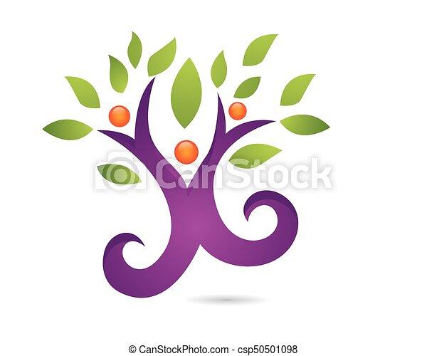 Family Tree Symbol Icon Logo Design Template Eps Vectors Search