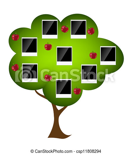 Family tree vector illustration - csp11808294