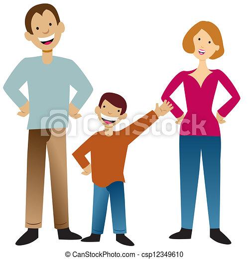 Family - csp12349610