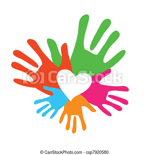 symbol of a happy family the love and support vector vector rh canstockphoto com support clip art free peer support clipart
