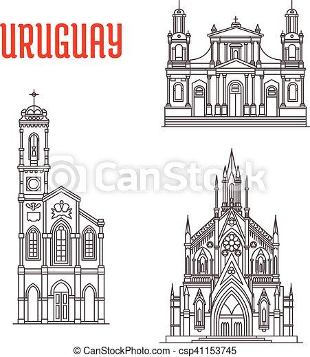 Grficos vectoriales EPS de famoso edificios histrico