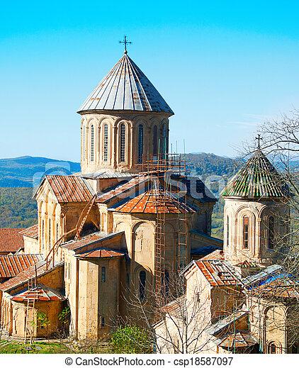 El famoso monasterio gelati - csp18587097