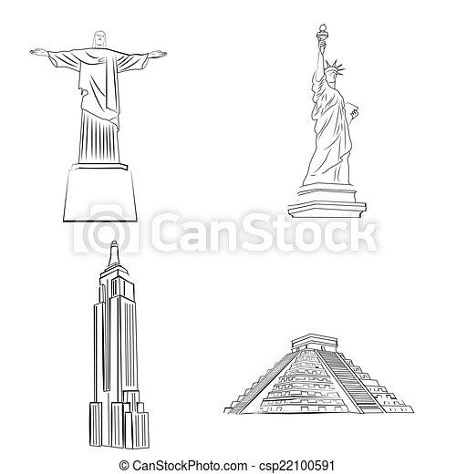 Lugares famosos - csp22100591