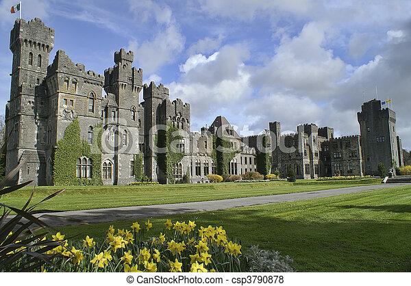 Famous Ashford Castle, County Mayo, Ireland. - csp3790878