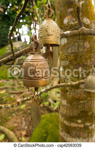 Famous Big Buddha wish bells, Phuket - csp42063039