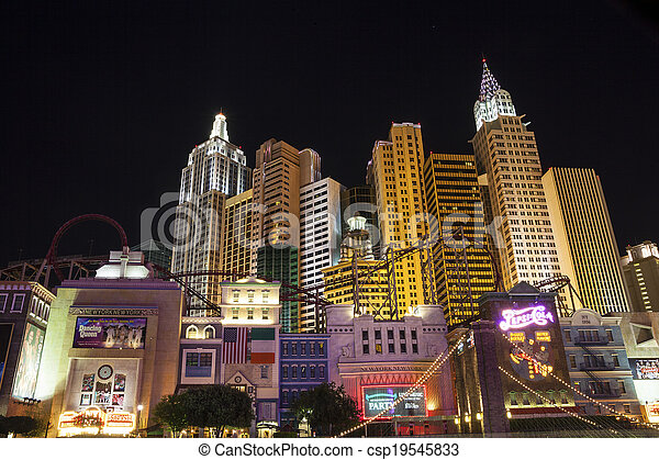 Famous Las Vegas, Nevada, USA - csp19545833