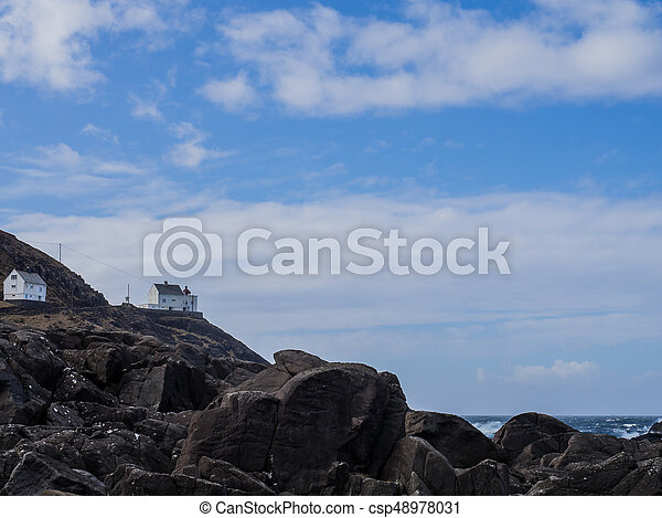 Famous Lighthouse in Norway - csp48978031