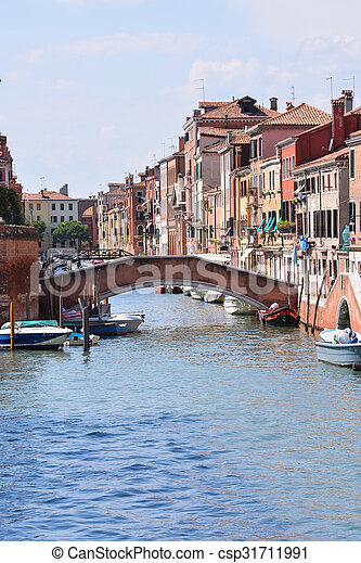 Famous Venice Italian City - csp31711991